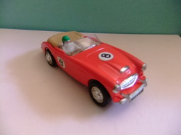 Scalextric Austin Healey 3000 C 74 Rojo N 8 Made In England - Circuitos Automóviles
