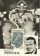 CHECOSLOVAQUIA, TARJETA POSTAL CONMEMORACION COOPER - Checoslovaquia