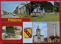 Cpsm Cpm 54 FILLIERES Multivues Blason - Sonstige Gemeinden