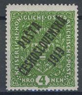 * Tchécoslovaquie 1919 Mi 57 (Yv 60), (MH) Trace De Charniere - Tchécoslovaquie