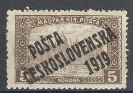 * Tchécoslovaquie 1919 Mi 136 (Yv 93), (MH) Trace De Charniere - Unused Stamps