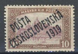 * Tchécoslovaquie 1919 Mi 137 (Yv 94), (MH) Trace De Charniere - Cecoslovacchia
