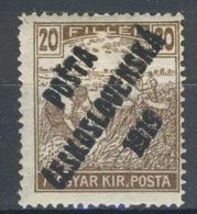 * Tchécoslovaquie 1919 Mi 126 (Yv 83), (MH) Charniere - Czechoslovakia