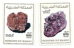 1974 - Marocco 698/99 Minerali - Minerali