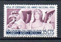 MEXIQUE. PA 187 De 1954. Hymne National. - Musique