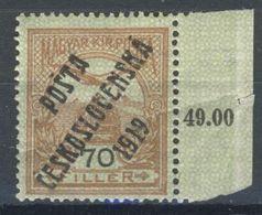 * Tchécoslovaquie 1919 Mi 110 (Yv 71), (MH) - Czechoslovakia