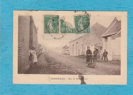 Rosières-en-Santerre. - Rue De Méharicourt. - Rosieres En Santerre