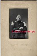 Grand CDV-(CAB) Soldat 1er R Photo Léon Jude Rue De Douai à Arras - Guerra, Militari