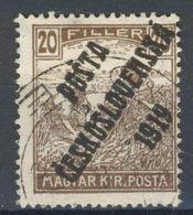 Tchécoslovaquie 1919 126 (Yv 83), Obliteré - Oblitérés