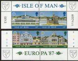 ISLE OF MAN, 1987 ARCHITECTURE 4 MNH - Isle Of Man