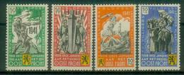 DR Bes. 2. WK Belgien Flämische Legion - Michel I-IV Pfr.** - Occupation 1938-45