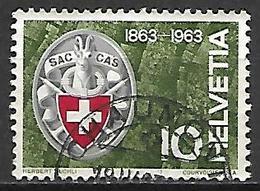 SUISSE    -   1963 .    Y&T N° 706 Oblitéré. - Switzerland