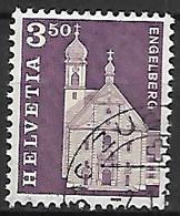 SUISSE    -   1967 .    Y&T N° 798 Oblitéré.   Engelberg - Switzerland