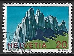 SUISSE    -   1969 .    Y&T N° 838 Oblitéré.   Alpes - Switzerland