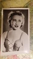 Ballet  - Dancer - Artist Ulanova - Old Soviet Postcard  - Rare! 1940s - Danse