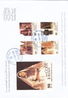 Jordan 2009, Costumes Complete Set 4 Stamps+ S.sheet On Official FDC- Clearing Stock- Red.Price-SKRILL PAY - Jordan