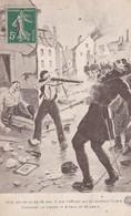 PS / MILITARIA. Anti-Allemand 1914 Héros De 16 Ans Tue Officier Allemand Qui Lui Donnait Ordre D'achever Un Blessé . - Patriotic