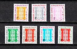 Mauritania   - 1961. Timbre Taxe Serie Completa. MNH - Stemmi