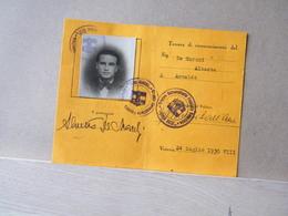 MONDOSORPRESA, 1930 - TESSERA GRUPPO UNIVERSITARIO FASCISTA FRANCO GOZZI - VENEZIA - Documenti Storici