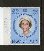 ISLE OF MAN, 1981  £2 QUEEN 1 MNH - Isola Di Man