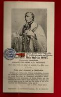 Image Pieuse Holy Card Relique Vénérable Jean-Martin Moyë - De La Natte ... Reposait En Chine ... ((*_*)) ... RARE  !! - Images Religieuses