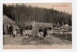 - CPA VOSGES (88) - Au Col De Sainte-Marie 1913 - La Frontière Bien Gardée (belle Animation) - Edition Weick 5514 - - Non Classés