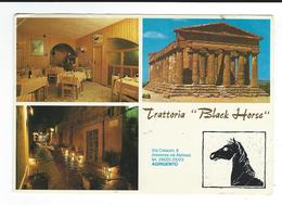 Italie Sicile Trattoria Black Horse Agrigento Grand Format - Agrigento