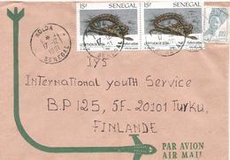 Senegal 1991 Kolda Snake African Rock Python Python Sebae André Buzin Cover - Serpenti