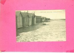 CP.  62.  LE  TOUQUET  PARIS  PLAGE.  GRANDE  MAREE  DU  15  AOUT  1912.  ABANDON  DES  CABINES - Le Touquet