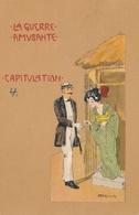 CPA - Thèmes - Illustrateurs - Signés - Raphael Kirchner - La Guerre Amusante - Kirchner, Raphael