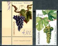 MOLDAVIA / MOLDOVA 2009/2010** - Viticulture -  2 Val. MNH, Come Da Scansione. - Vini E Alcolici