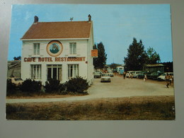 VENDEE L'AIGUILLON SUR MER ROUTE DE LA POINTE CAFE HOTEL RESTAURANT DEGUSTATION LE GENIE - Autres Communes