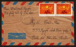 Vietnam 1984 Vietnam Military Post Airmail To Ho Chi Minh City - Viêt-Nam