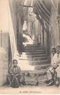 POSTAL  ALGER (ARGELIA)  AFRICA  - RUE TOMBOUCTOU - Argelia