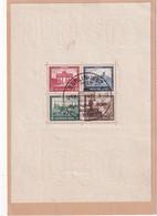 ALLEMAGNE 1930 CARTE DE BERLIN AVEC BLOC  NON SIGNE - Germania