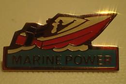 PIN'S: Marine Power Bateau - Boats