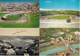 Stadium Estadio Stade Stadio Di Calcio Stadi Cagliari Cosenza Milano Roma ( Nr°4 Cartoline Differenti) - Calcio