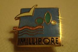Pin's MILLIPORE Natation - Swimming