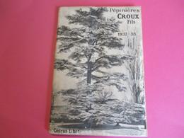 Catalogue Général Des Pépiniéres Du Val D'AULNAY / CROUX Fils / CHATENAY MALABRY/Seine /Oberthur/ 1937-38    LIV161 - Garden