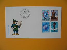 FDC Luxembourg   1983  -  Lot De 10   FDC  à Voir - FDC
