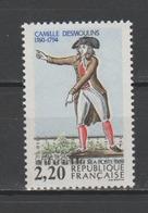 """FRANCE / 1989 / Y&T N° 2594 ** : """"Bicentenaire De La Révolution"""" (Camille Desmoulins) - Gomme D'origine Intacte - Unused Stamps"""