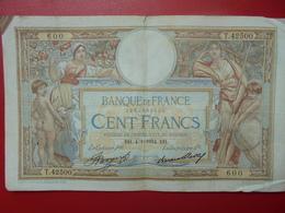 FRANCE 100 FRANCS 4-1-34 CIRCULER (B.4) - 1871-1952 Circulated During XXth