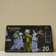 Phonecard - Switzerland - Teleline - 20 Francs - Schweiz