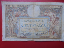 FRANCE 100 FRANCS 18-1-34 CIRCULER (B.4) - 1871-1952 Circulated During XXth