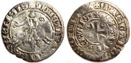 Comté De Hainaut - Marguerite De Constantinople [1244-1280] - ⅔ Gros Ou Baudequin - 476-1789 Monnaies Seigneuriales