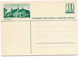 "27 - 49 - Entier Postal Neuf Avec Illustration ""Zofingen"" - Ganzsachen"