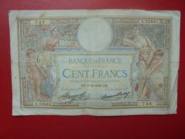 FRANCE 100 FRANCS 3-12-36 CIRCULER (B.4) - 1871-1952 Circulated During XXth