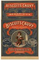 Bédarieux (34)- Biscuiterie Cauvy (Edition à Tirage Limité) - Bedarieux