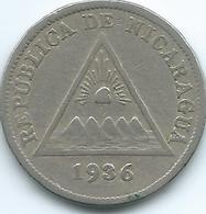 Nicaragua - 1936 - 5 Centavos - KM12 - Nicaragua