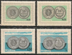 Uruguay 1044/1047 ** MNH. 1979 - Uruguay